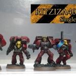 Bloodangel assault squad painted(repaint)