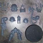 Chaos Space Marine Terminator Power axe single