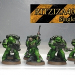 Salamander Tactical squad painted(repaint)