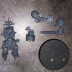 Space Marine Terminator sergeant AORB single