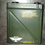 lasgun power pack tin