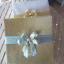 J 103 ผ้าแพรขนาด 5 ฟุต แพ็คกล่องสีเงิน สีทอง คาดโบว์สุดสวย thumbnail 6