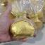 H 128 ของชำร่วย กระเป๋าผีเสื้อสีทองแพ็คถุงพลาสติกจับจีบ thumbnail 4