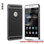 เคสมือถือ Case Huawei P8 เคสกรอบโลหะฝาหลังอะคริลิค แบบที่2