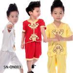 SN-ON003 เสื้อแขนยาว + กางเกง (80-130)