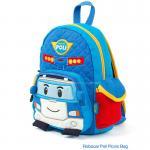 (Pre) กระเป๋า Robocar สีฟ้า