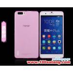 เคสมือถือ Case Huawei Honor 6 Plus เคสนิ่มโปร่งใสแบบบางคลุมรอบตัวเครื่อง แบบที่1