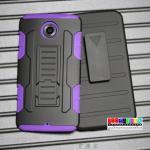 เคสมือถือ Motorola nexus 6 เคสกันกระแทกเหน็บเอวขอบสีสุดฮิต แบบที่4