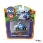 (พร้อมส่ง) Poli รถตำรวจ (ฟ้า )