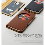 Zenus : Avoc ZView Toscana Leather Diary Case for Samsung Galaxy S5, SV, G900