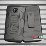 เคสมือถือ Motorola nexus 6 เคสกันกระแทกเหน็บเอวขอบสีสุดฮิต แบบที่1