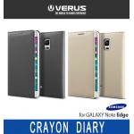 Verus : Crayon Diary Case Card Pocket Cover For Galaxy Note Edge