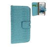 Case เคส Crocodile iPhone 5 (Blue)