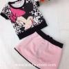 (เด็กโต) เซ็ต 2 ชิ้น เสื้อ + กระโปรงชมพู มินนี่เมาส์ น่ารักมากค่ะ size 13-17 ( 8-15 ปี)