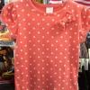 Palomino เสื้อยืดสีโอรสลายจุด แขนตุ๊กตา ติดโบว์เก๋ๆ ช่วงอก ใส่กับยีนส์ น่ารักมากค่ะ size 92