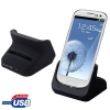 Desktop Charger Cradle with 2nd Battery Slot Samsung Galaxy S 3 III