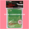 Ultra•Pro Small Deck Protector / Sleeve - Green 60ct.