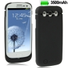 3500mAh Portable Power Bank Samsung Galaxy S 3 III (Black)