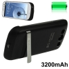 3200mAh Portable Power Bank Samsung Galaxy S 3 III (Black)