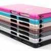 (025-120)เคสมือถือโซนี่ Case Sony Xperia Z4/Z3+ เคสกรอบบัมเปอร์โลหะฝาหลังอะคริลิคทูโทน