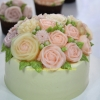 Clear Flower Cake Class