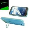 เคส Plastic + Silicone สี Blue note2