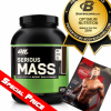 ON-OPTIMUM Serious Mass Weight Gainer 6 Lbs