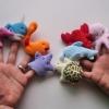 หุ่นนิ้วมือ ชุดสัตว์ทะเล สร้างเสริมพัฒนาการสำหรับเด็ก