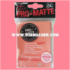 Ultra•Pro Pro-Matte Standard Deck Protector / Sleeve - Peach 50ct.
