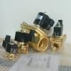 """โซลินอยด์วาล์วทองเหลือง N/C 220V AC 1.5"""" ( KLOD )"""