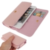 Case เคส Litchi iPhone 5 (Pink)