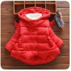 เสื้อโค้ท กันหนาวสีแดง สำหรับอายุ 1-4 ปี น่ารักมากค่ะ