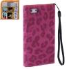 Case เคส Leopard iPhone 5 (Magenta)