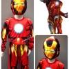 Iron Man (งานลิขสิทธิ์) ชุดแฟนซีเด็กไอออนแมน 3 ชิ้น เสื้อ กางเกง & หน้ากาก ให้คุณหนูๆ ได้ใส่ตามจิตนาการ ผ้ามัน Polyester ใส่สบายค่ะ หรือจะใส่เป็นชุดนอนก็ได้ค่ะ size 4, 6, 8, 10