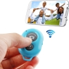 remote shutter (Bluetooth ลั่นชัตเตอร์) for iPhone 5 & 5C & 5S / iPad 3 / iPad 2 / iPad mini / iPad mini with Retina Display / Samsung Galaxy S3 / S4 / Note 3 / Moto X / Nexus 4 (Blue)
