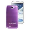 ฝาหลัง Aluminum Note 2 (Purple) ขอบขาว