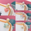 Various Lovely Anti Dust Ear Cap iphone plug for iPhone 4/4S, Galaxy Note S2 S3