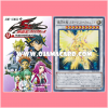 Yu-Gi-Oh! 5D's Vol.9 [YF09-JP] + YF09-JP001 : Stardust Chronicle Spark Dragon / Stardust Chronicle the True Flashing Light Dragon (Ultra Rare)