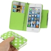 Case เคส Dot Pattern iPhone 5 (Light Green)