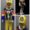 Masked Rider Den-O Axe Form (งานลิขสิทธิ์) ชุดแฟนซีเด็กมาสค์ ไรเดอร์ เดนโอ ในร่างของแอ็กซ์ ฟอร์ม 3 ชิ้น เสื้อ กางเกง & หน้ากาก ให้คุณหนูๆ ได้ใส่ตามจิตนาการ ผ้ามัน Polyester ใส่สบายค่ะ หรือจะใส่เป็นชุดนอนก็ได้ค่ะ size S, M, L, XL (สำหรับน้องประมาณ 3-8 ปี)