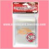 Yu-Gi-Oh! ZEXAL OCG Duelist Card Protector / Sleeve - Holographic Silver x50