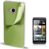 CD Texture Metal HTC One (M7) (Green)