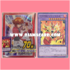 Yu-Gi-Oh! Duel Monsters OCG Duelist Card Protector / Sleeve - Extra / EX : Master of HERO 70ct. + DPEX-JP002 : Elemental HERO Nova Master (Normal Parallel Rare)