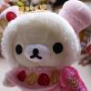 ตุ๊กตาน้องหมี Korilakkuma Strawberry cake ชุดขนมเค้ก