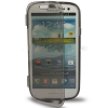 Case เคส แบบฝาเปิด ชนิดใส วัสดุ TPU Samsung Galaxy S3 SIII (i9300) สีดำ