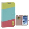 Case Horizontal Flip Leather Samsung Galaxy S 3 III