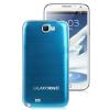 ฝาหลัง Aluminum Note 2 สีฟ้า ขอบขาว