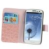 Case เคส Crocodile Samsung Galaxy S 3 III (i9300)(Pink)