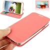 Case เคส เนื้อผ้าลินิน Samsung Galaxy S 4 IV (i9500) สีชมพู