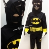 Batman (งานลิขสิทธิ์) ชุดแฟนซีเด็กแบทแมน มีไฟ 3 ชิ้น เสื้อ กางเกง & หน้ากากติดกับผ้าคลุม ให้คุณหนูๆ ได้ใส่ตามจิตนาการ ผ้ามัน Polyester ใส่สบายค่ะ หรือจะใส่เป็นชุดนอนก็ได้ค่ะ size XS, S, M, L, XL